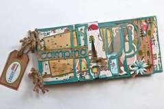 Happy Camping Clear Scraps Acrylic/custom word album