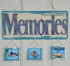 Clear Scraps Expressions Wall Hanging