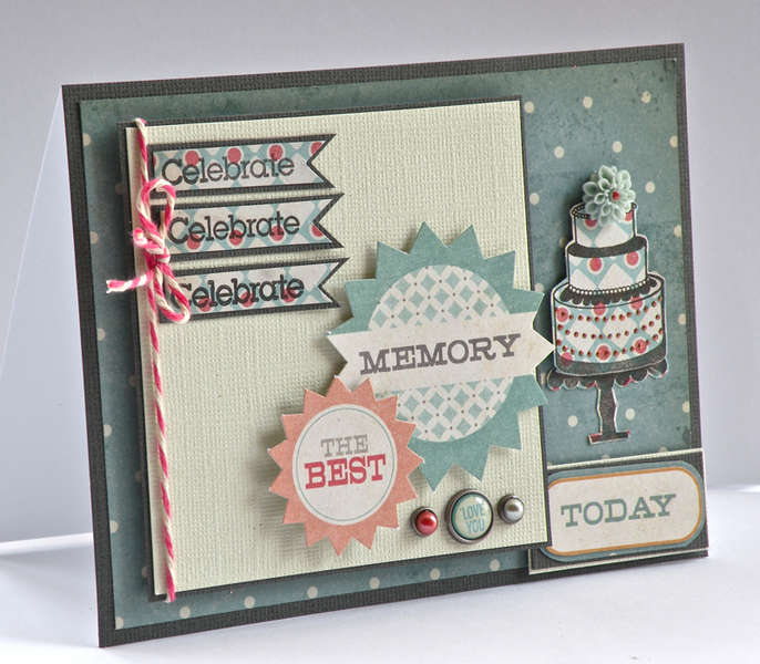 Vintage style card