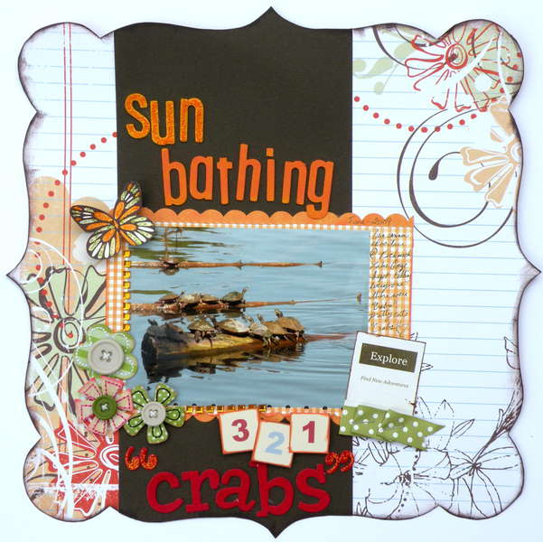 "Sun Bathing ""Crabs"""