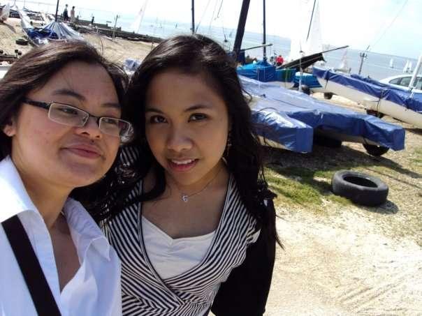 with kim