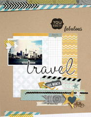 Travel Fabulous  *Pink Paislee*
