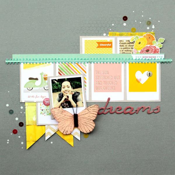 Dreams  **American Crafts / Dear LIzzy**