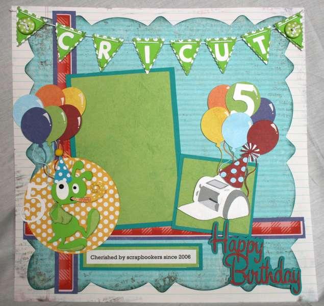Happy Birthday Cricut