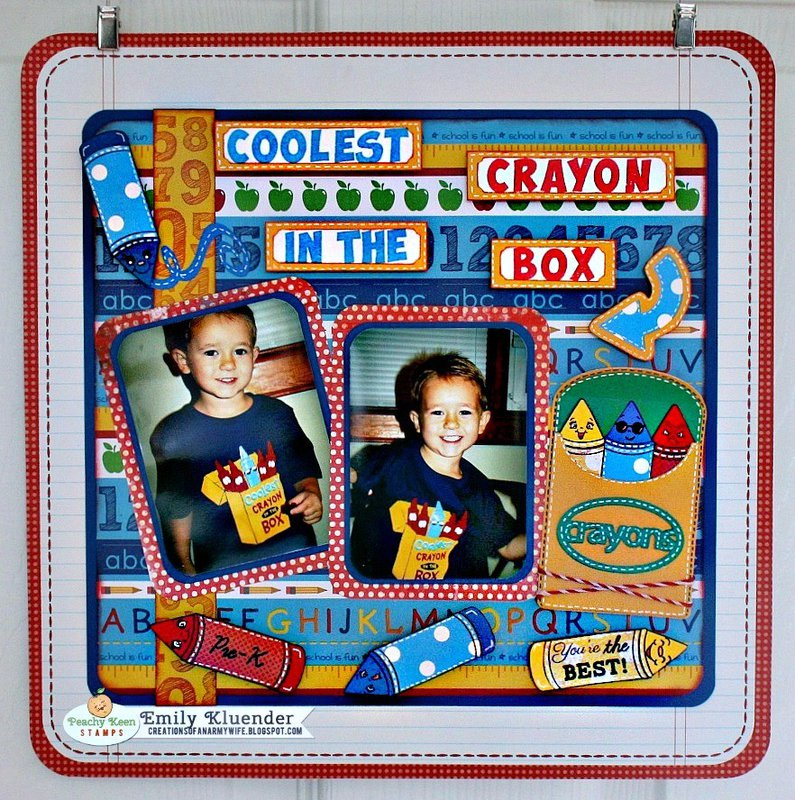 Coolest Crayon in the box!