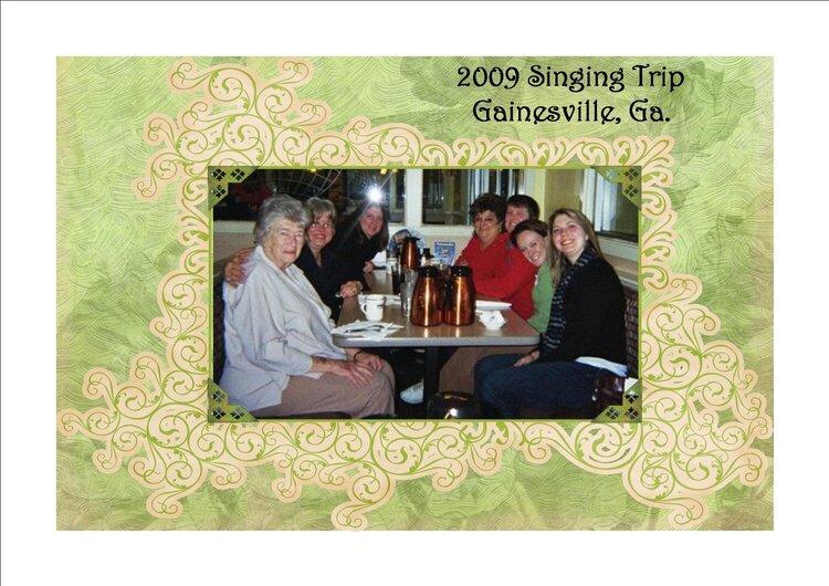 2009 Gainesville Ga. Trip