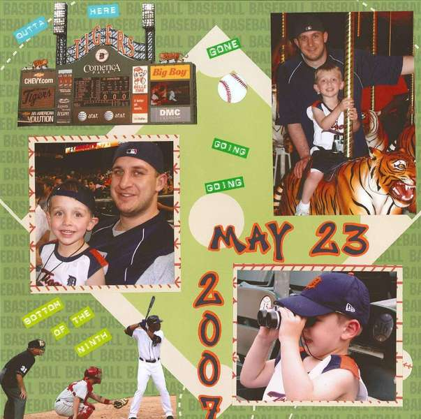 Tigers Game - Page 1