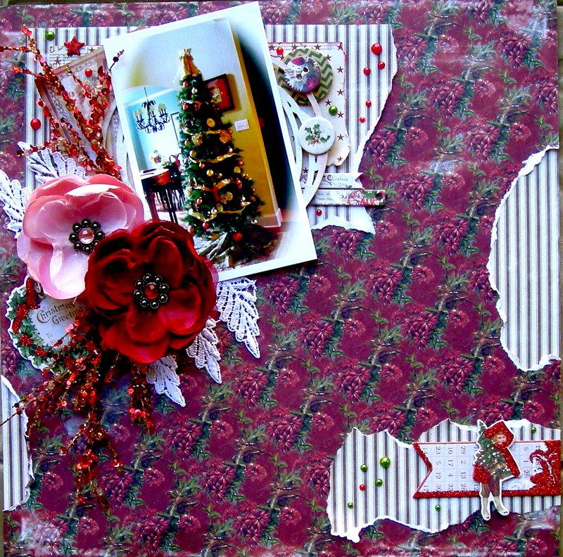 """Christmas Greetings """"C'est Magnifique Dec Kit"""" DT"""