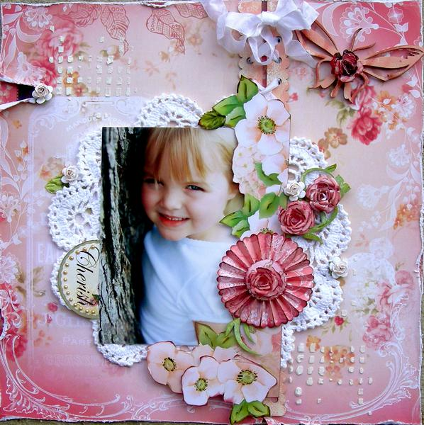 """Cherish ~ Scrap That! Blog Hop and March Kit Reveal """"New Blooms"""""""