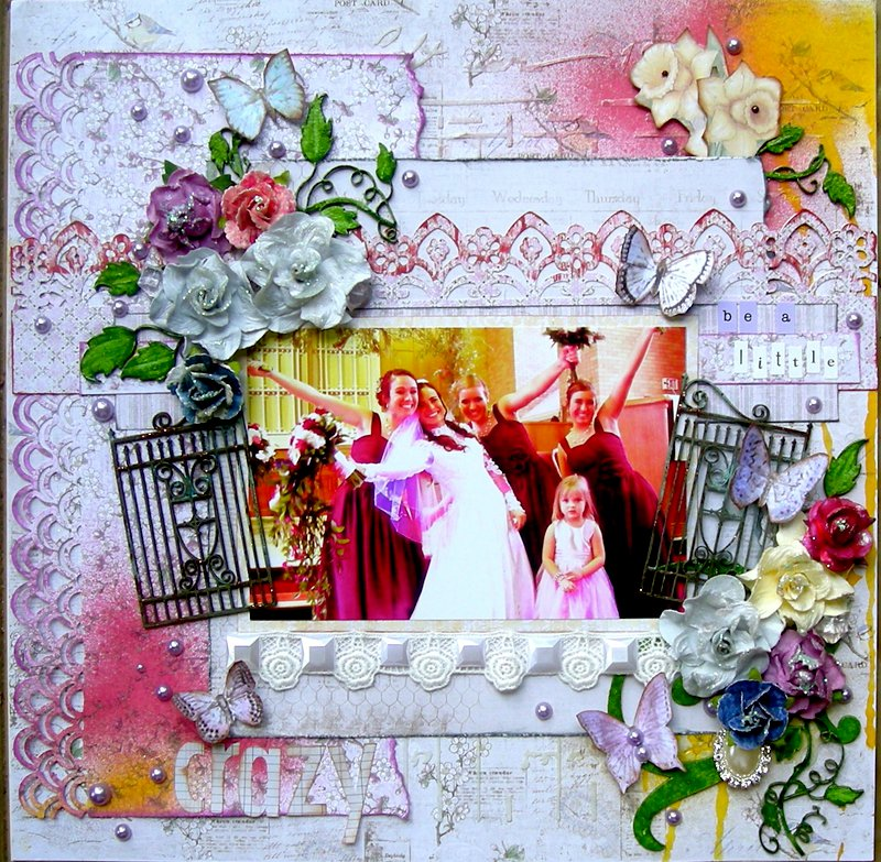 """Be a little Crazy""  Scrap That! August Kit Reveal"