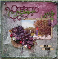 Organic ** Scrap That! July Kit Reveal ** Summer in My Garden