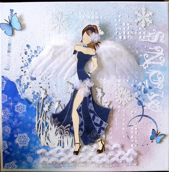 Snow Angel ~ Scrap That! January Kit Reveal ~ Flakes of Snow