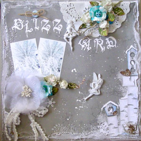 Scrap That! January Kit Reveal ~ Flakes of Snow