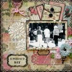 A Perfect Day ~ Scrap That! February Kit Reveal ~ With Love ~