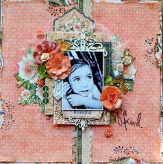 Zoe ~ Scraps of Elegance March Kit
