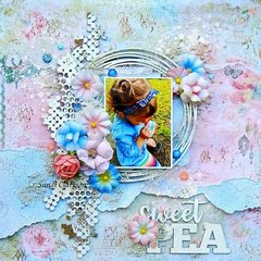 Sweet Pea ~ Creative Embellishments