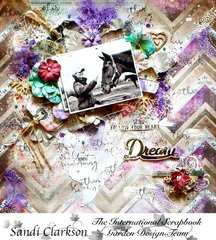 Dream ~ International Scrapbook Garden