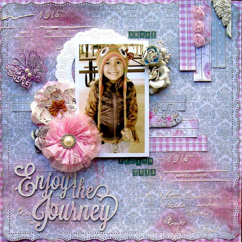 """Enjoy the Journey ~ """"C'est Magnifique January Kit"""""""