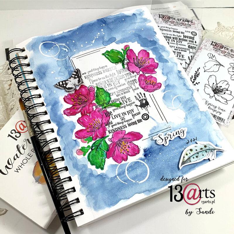 Spring ~ Art Journal Entry
