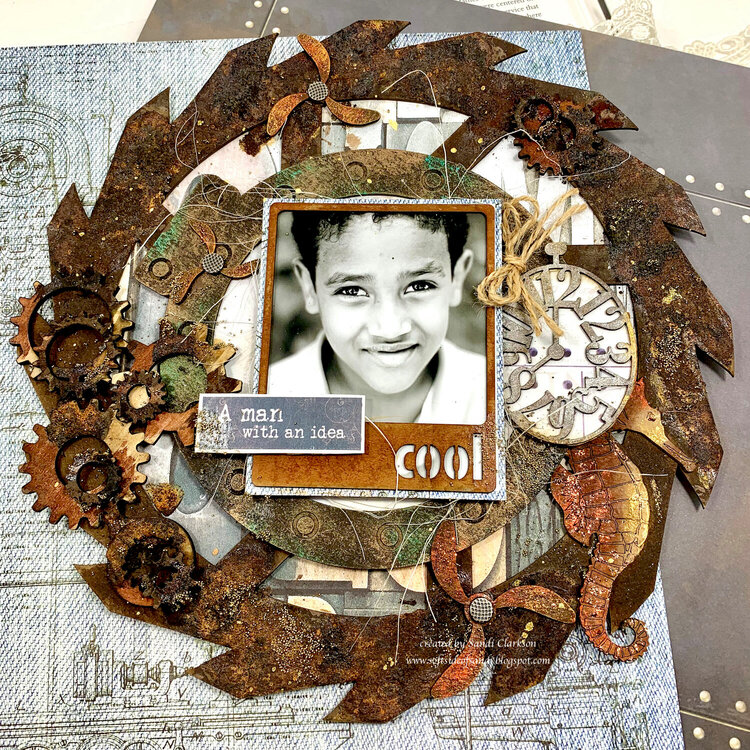 Cool ~ Off the Page for Creative Embellishments