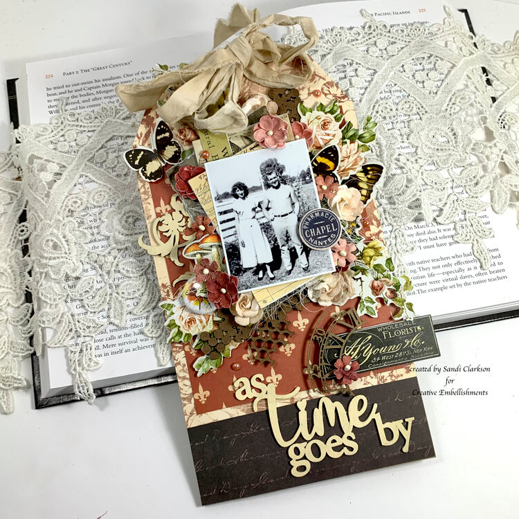 As Time Goes By ~ Creative Embellishments
