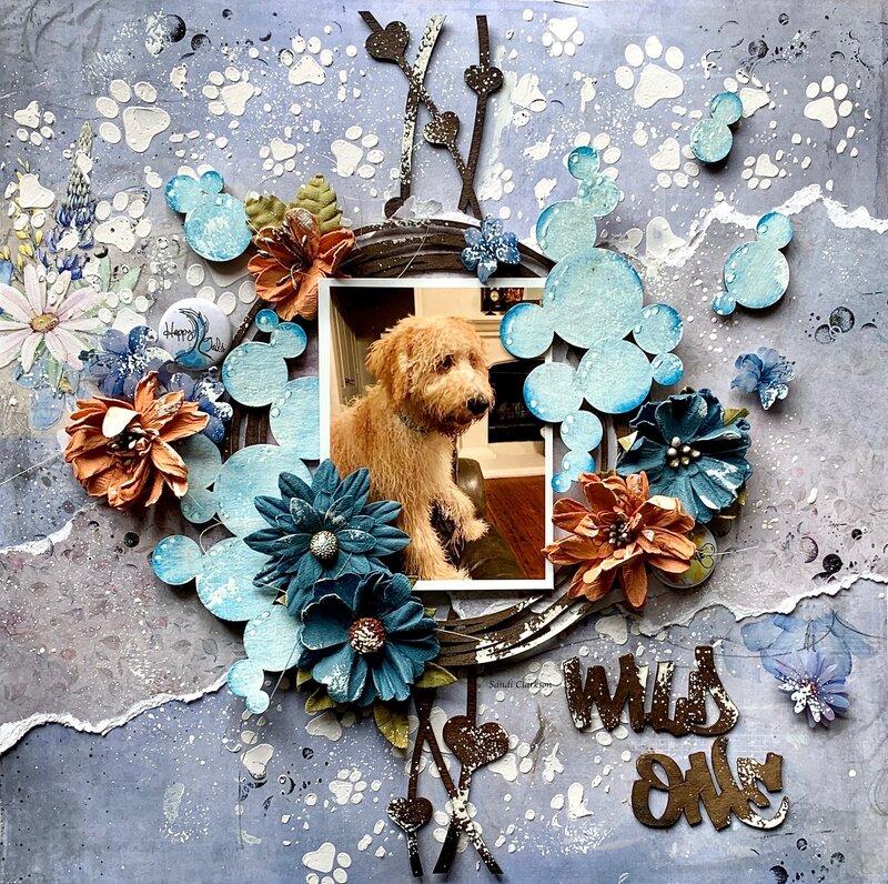 Wild One ~ Creative Embellishments