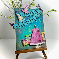 Happy Birthday card for Creative Embellishments