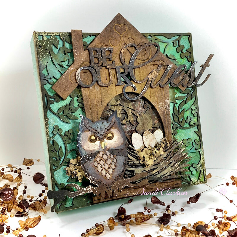 Be Our Guest ~ Creative Embellishments