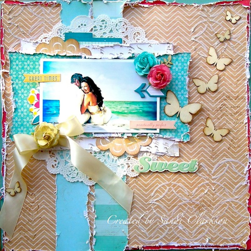 Sweet ~ My Creative Scrapbook April Limited Edition Kit