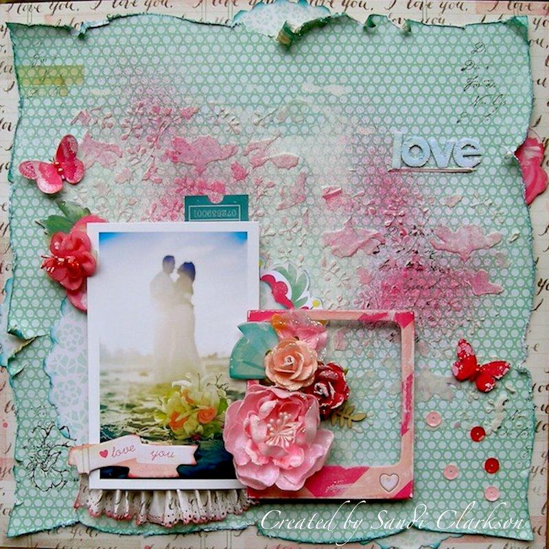Love ~ My Creative Scrapbook April Limited Edition Kit