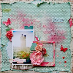 Love ~ My Creative Scrapbook April Limited Edition Kit