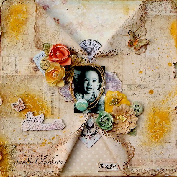 Just Adorable ~ My Creative Scrapbook May Limited Edition Kit