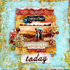 Today ~ My Creative Scrapbook April LE Kit