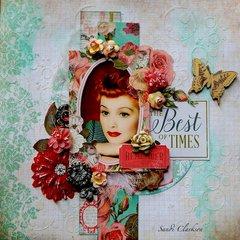 My Creative Scrapbook ~ Best of Times