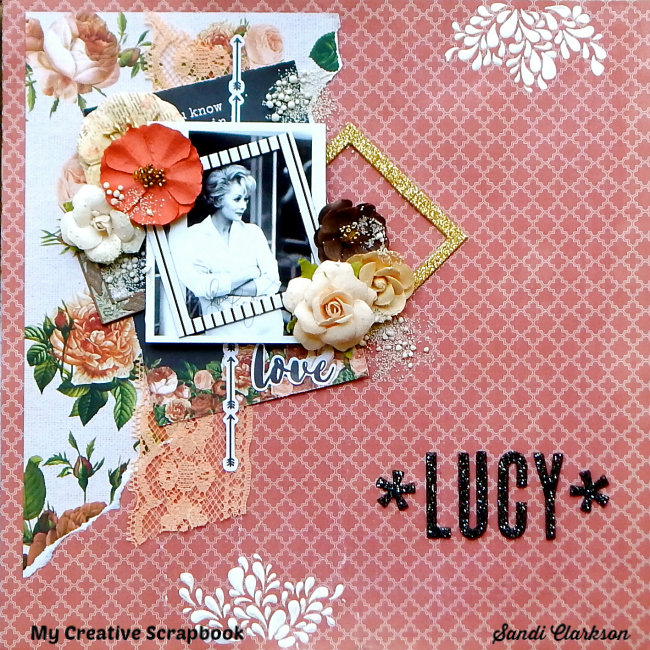 Lucy ~ My Creative Scrapbook LE Kit, July