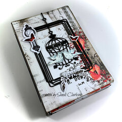 Mini album Junk Journal for Creative Embellishments DT