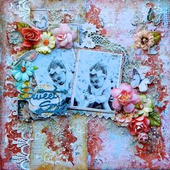 Sweet Smile ~ Scraps of Elegance May 2017