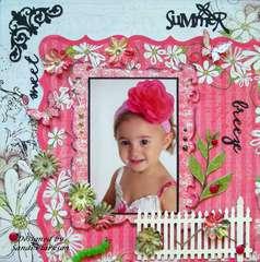 Sweet Summer Breeze ~ My Creative Scrapbook~
