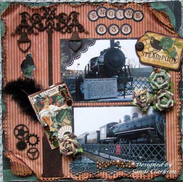 Engine 638 ~Steampunk Debutante~