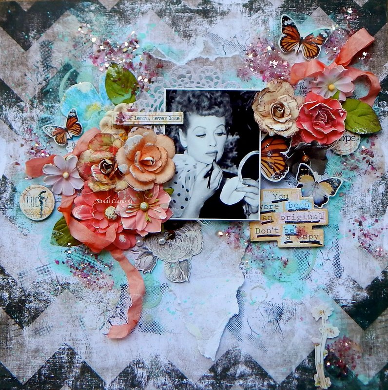 Lucy- born an original - Scraps of Elegance May Kit