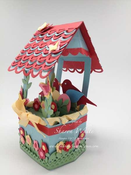 Bird House Pop Up Card