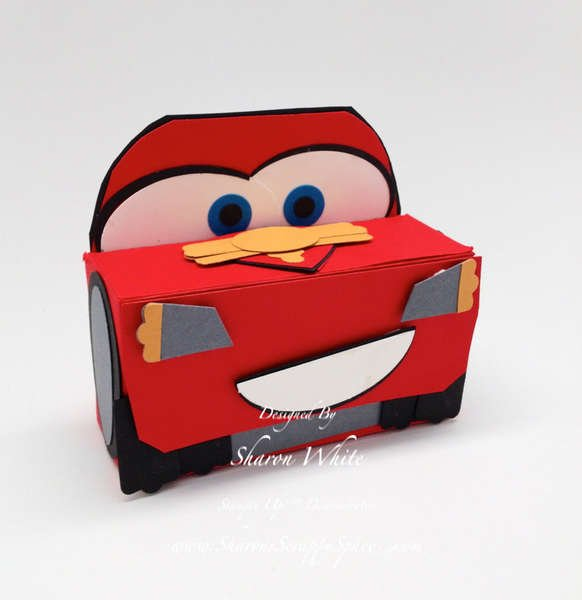 Car's Lightening McQueen Treat Holder