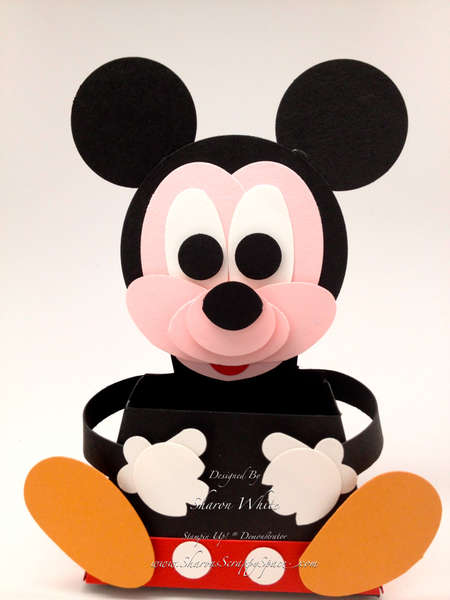 Micky Mouse Punch Art Treat Holder