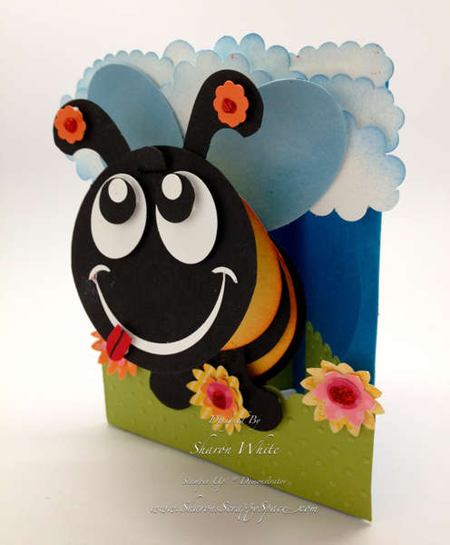 3D Honey Bee Pop Up Card