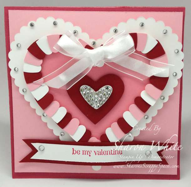 Valentine's Heart Explosion Card Outside