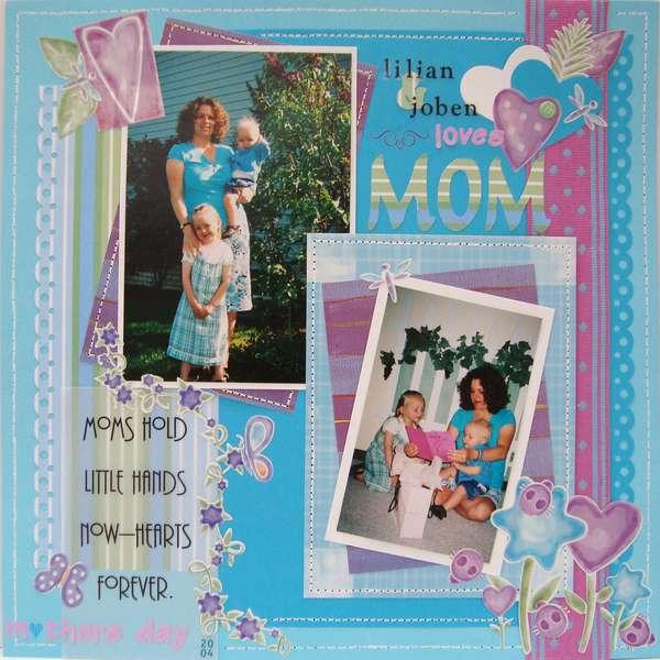 Lilian & Joben loves MOM