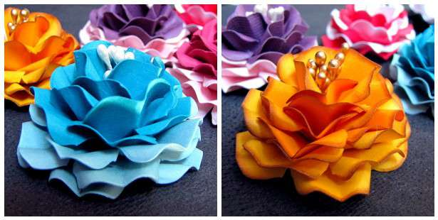Ruffled Flower Tutorial