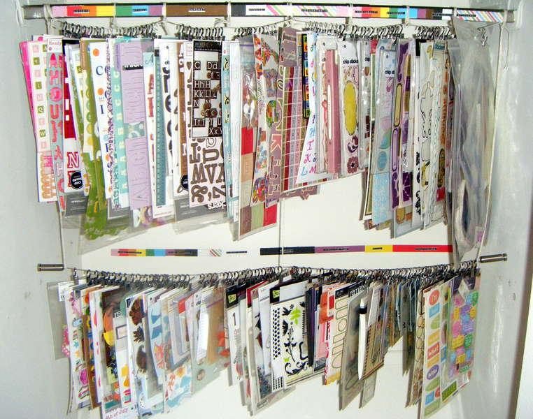 Closet Clip-It-Up Storage System