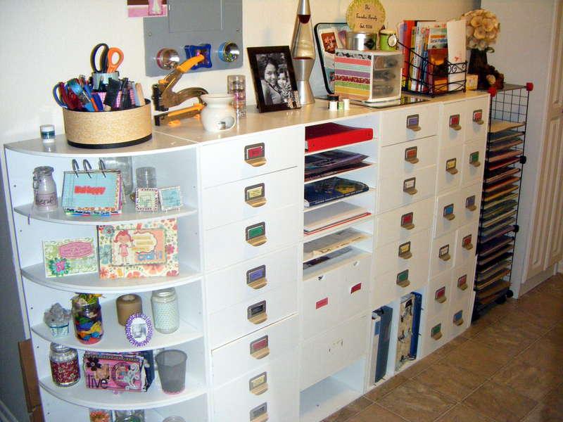 Scraproom in Laundry/Pantry Room (November 2011)