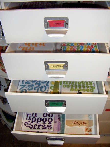 Alphabet Thickers Stickers Organization